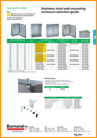 Schneider Electric Spacial S3X selection guide
